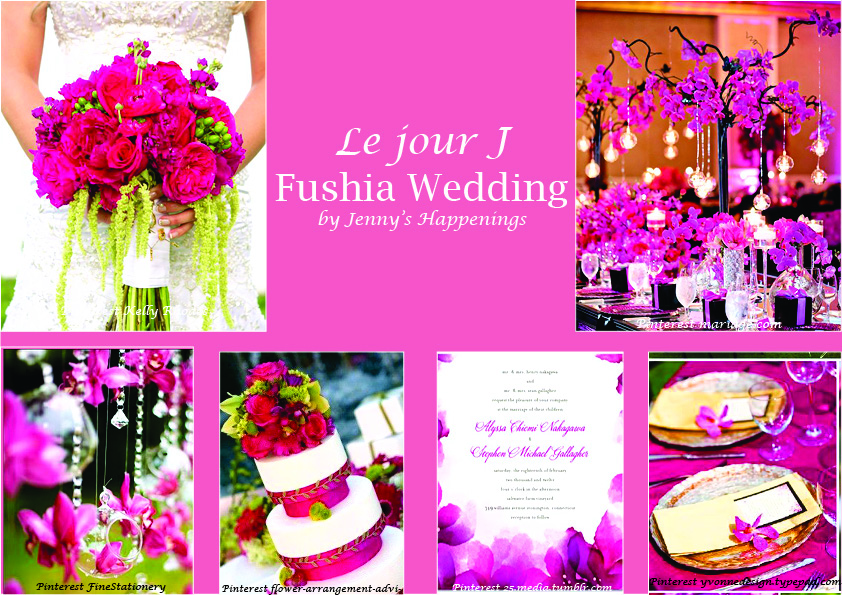 Fushia Wedding
