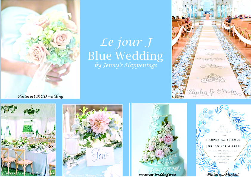 Light Blue Wedding