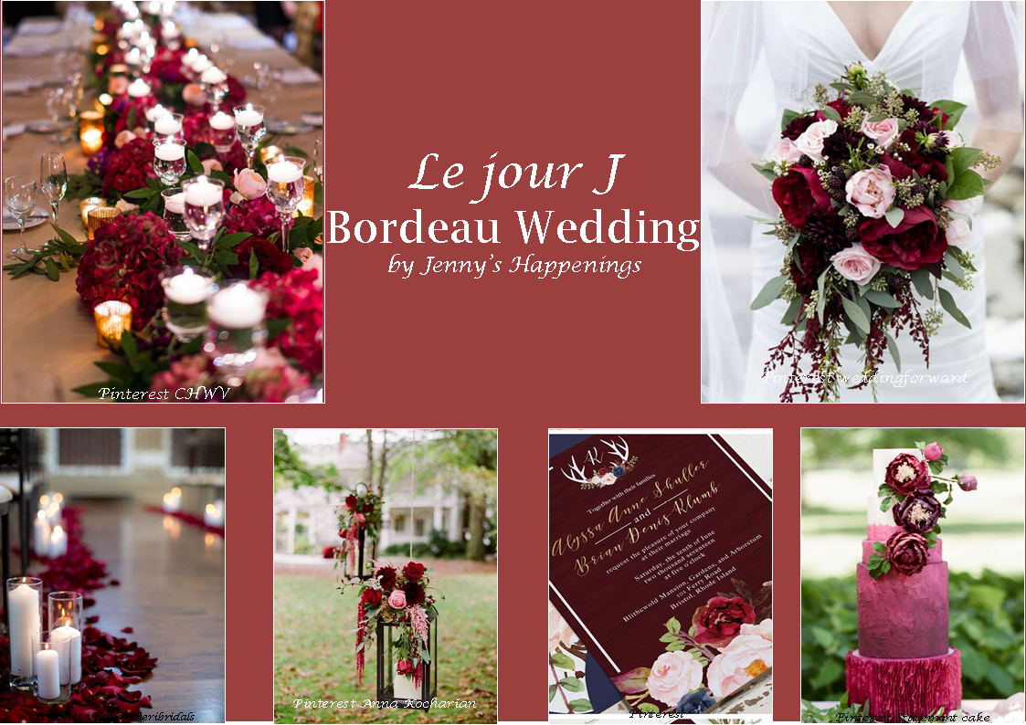 Bordeau Wedding